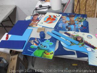 Toy Story Toy Set (See Pictures)