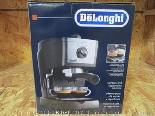 De'Longhi EC-155 15 Bar Pump Espresso and Cappuccino Machine