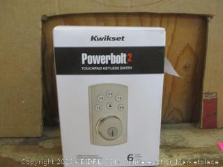 Kwikset Powerbolt 2  Touchpad Keyless Entry