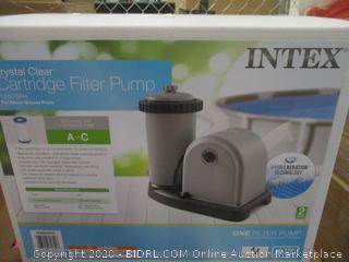 Intex Crystal Clear Cartridge Filter Pump