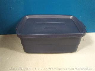Rubbermaid RMRT100004 Roughneck Storage Tote, 10-Gallon (online $9.99)