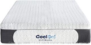 Classic Brands 14-inch cool gel mattress Queen (rack 19) (Online $435)