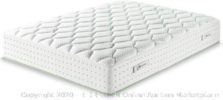 Zinus King 12in icoil Spring olive oil hybrid mattress (Rack 20 & 21) (Online $740)