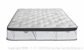 Olee Sleep 13 inch Galaxy Hybrid Gel Infused Memory Foam and Pocket Spring Mattress (Full) (Online $210)