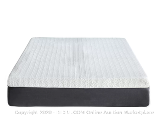Classic Brands cool gel 12 inch memory foam mattress Queen (rack 14 &15) (Online $321)