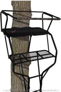 Big Game Guardian XTL 18' Double Ladder Tree Stand BGN-LS4860 (Online $138)