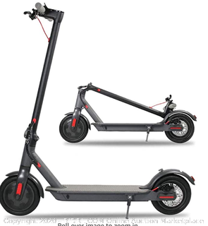 Jakko 6.5 inch electric scooter foldable 250 watt electric scooter Adult super light LED light (Online $335) - NEW SEALED BOX