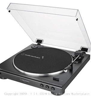 Audio-Technica At-Lp60x-Bk Fully Automatic Belt-Drive Turntable (Online $99)