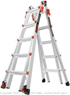 Little Giant 22-Foot Velocity Multi-Use Ladder, 300-Pound Duty Rating, 15422-001(Cubby 2) (Online $239)