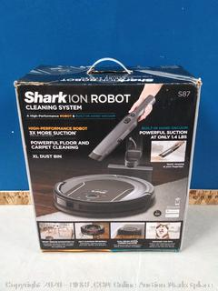 Shark Robot Cleaning System S87 (Wi-Fi) with Hand Vacuum in All-In-One Charging Dock and Voice Control with Alexa or Google Assistant (online $499)