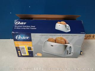 Oster 4 Slice Long Toaster (online $52)
