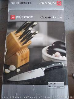 Wusthof Classic Ikon 14-piece Knife Block Set (online $999)