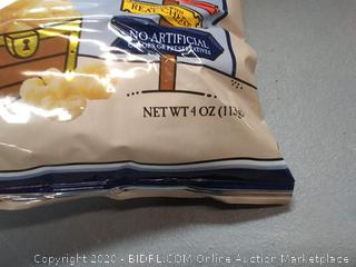 Pirate's Booty aged white cheddar rice and corn Puffs 4 oz bag X3