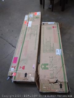 Ashley Furniture Lake House Twin Loft guard rails and ladder
