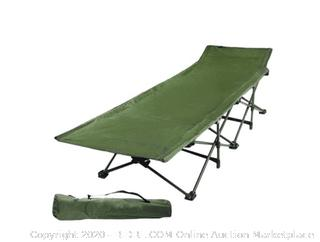 Redcamp Heavy Duty Camping Cots for Adults, Folding Cot Bed, Easy and Portable with Carry Bag