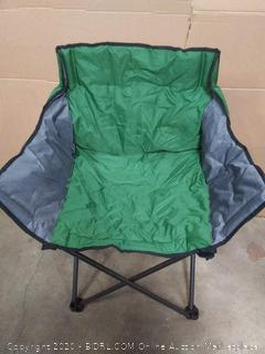 PORTAL Large Folding Camping Sofa Chair Padded Outdoor Club
