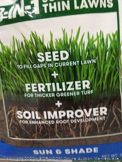 Scotts Turf Builder Thick'R Lawn 3 in 1 Sun / Shade 40lb (online $49)