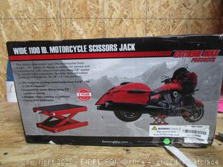 Motorcycle Scissors Jack