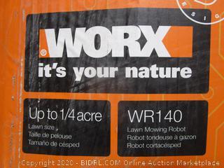 WORX Lawn Mowing Robot