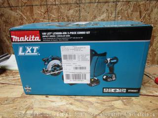 Makita 2-Piece Impact Driver / Circular Saw Combo Kit