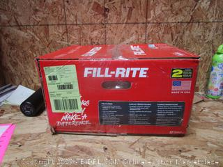Fill-Rite High-Flow Fuel Transfer Pump
