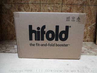 Highfold Fit-and-Fold Highback Booster Car Seat