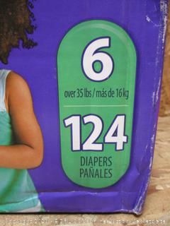 Luvs Diapers Size 6