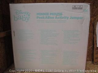 Disney Baby Minnie PeekABoo Activity Jumper