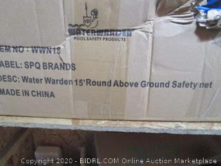 Water Warden Round Above Ground Safety Net