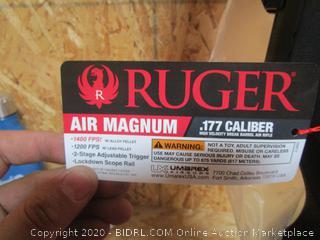 Ruger Air Magnum Break Barrel Pellet Gun Air Rifle
