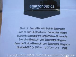 Bluetooth Sound Bar w/ Built-in Subwoofer