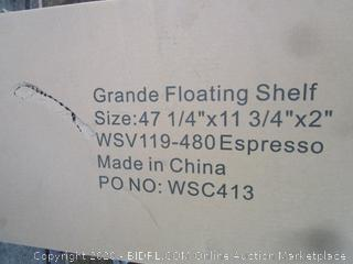 Grande Floating Shelf