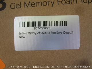 Gel Memory Foam Topper Size Queen