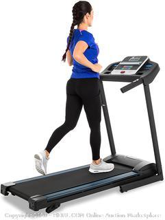 XTERRA Fitness TR150 Folding Treadmill Black (Online $350)