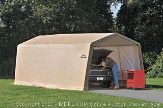 ShelterLogic Auto shelter 1020 10ft x 20ft x 8ft (Retails $419)