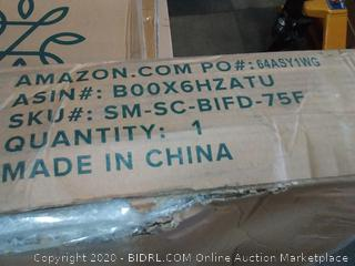 Zinus Jayanna 7.5 Inch High Profile BiFold Box Spring / Folding (Retail Value $126)