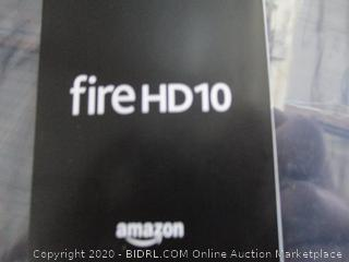 Fire HD 10 Powers on See  Pictures