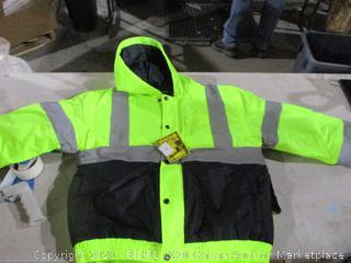 Mens Hi Vis Winter Jacket