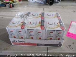 Celsius 4 Pack Sparkling Fuji Apple Pear Fitness Drink