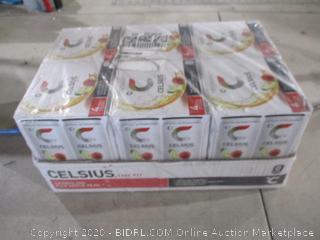 Celsius 4 Pack Sparkling Fuji Apple Pear