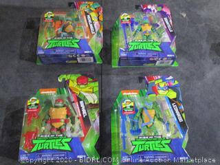 Teenage Mutant Ninja Turtles   Basic Figures Box lot of  18