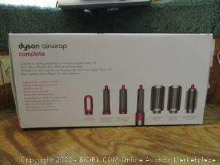 Dyson Airwrap Complete  Digital motor V9 Curl.Wave.Dry with no extreme Heat