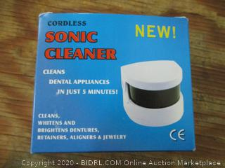 Cordless Sonic Cleaner