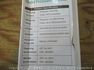 Cumbor Upper Arm Style Blood Pressure Monitor