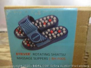 Byriver Rotating Shiatsu Massage Slippers