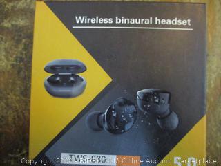 Wireless binaural Headset