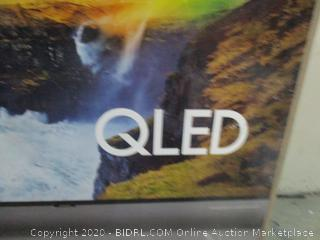 """Samsung QLED  65"""" TV See Pictures"""