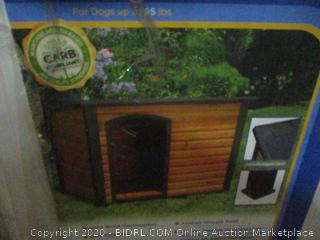 Extreme Outback Log Cabin Dog House