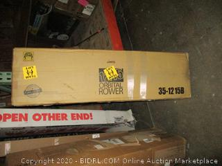 1215 Orbital Rower Incomplete Set