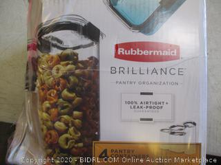 Rubbermaid Pantry Containers